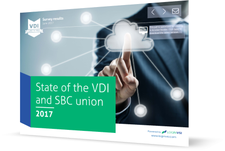 State of the VDI and SBC union survey results